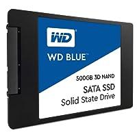 WD Blue 3D NAND 500 GB 2,5 Zoll interne Festplatte SATA SSD, bis zu 560 MB/s Lese- und 530 MB/s seq. Schreibgeschwindigkeit