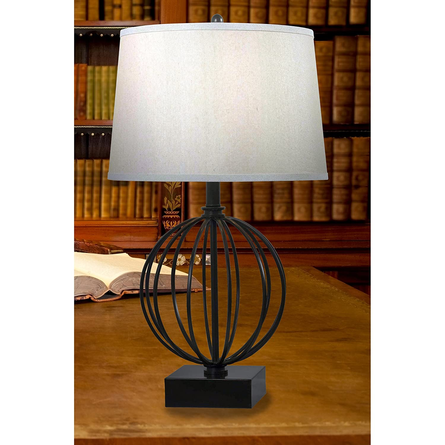Kenroy home 32102orb globus table lamp amazon geotapseo Choice Image