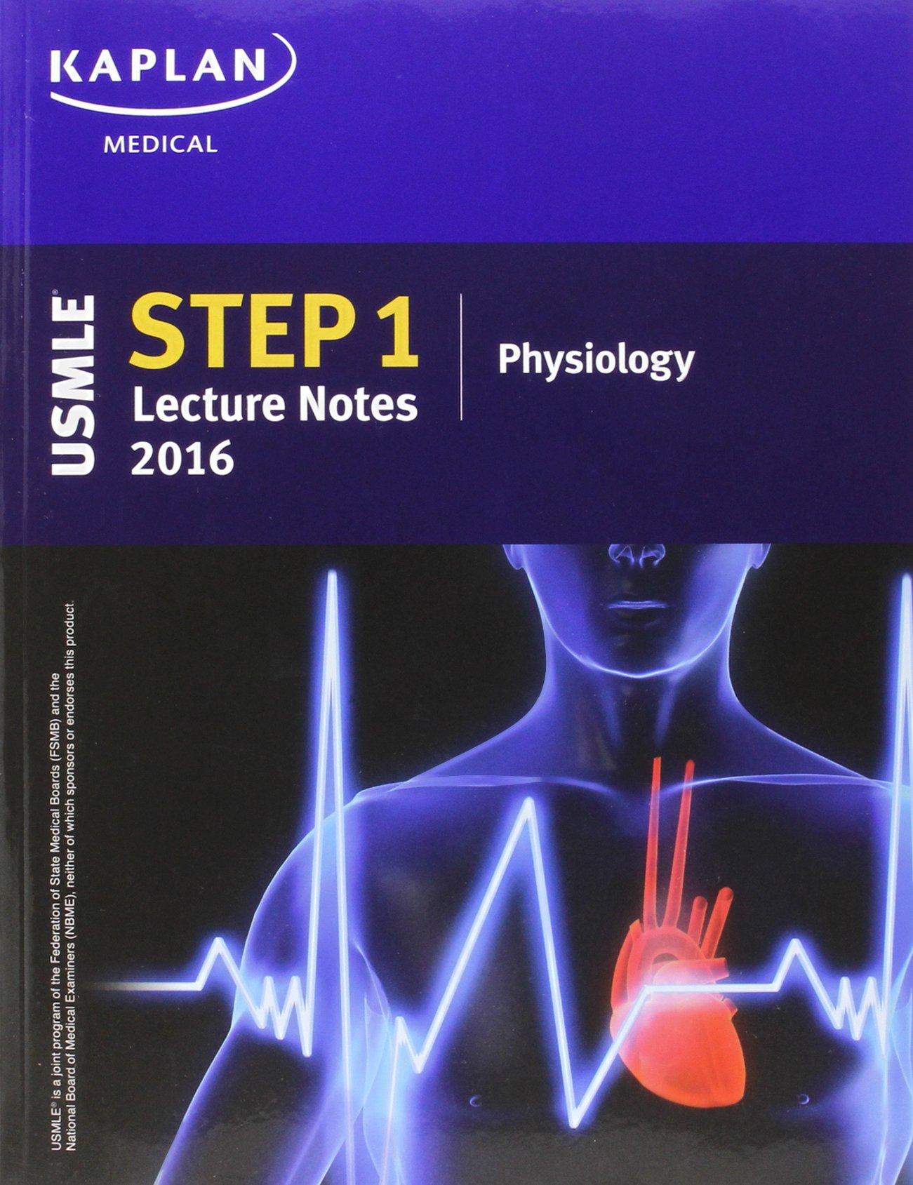 Buy USMLE Step 1 Lecture Notes 2016: 7-Book Set (Kaplan Test