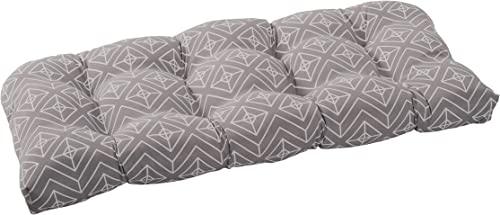 Reviewed: Quality Outdoor Living 29-GD1SLV Tufted Loveseat/Bench Cushion