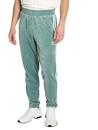 adidas Originals Men Sweat Pants Cozy Turquoise M: Amazon.co