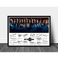 Signed Print of The 14 Doctors Who Played Doctor Who Between 1963-2018 (Poster ONLY)