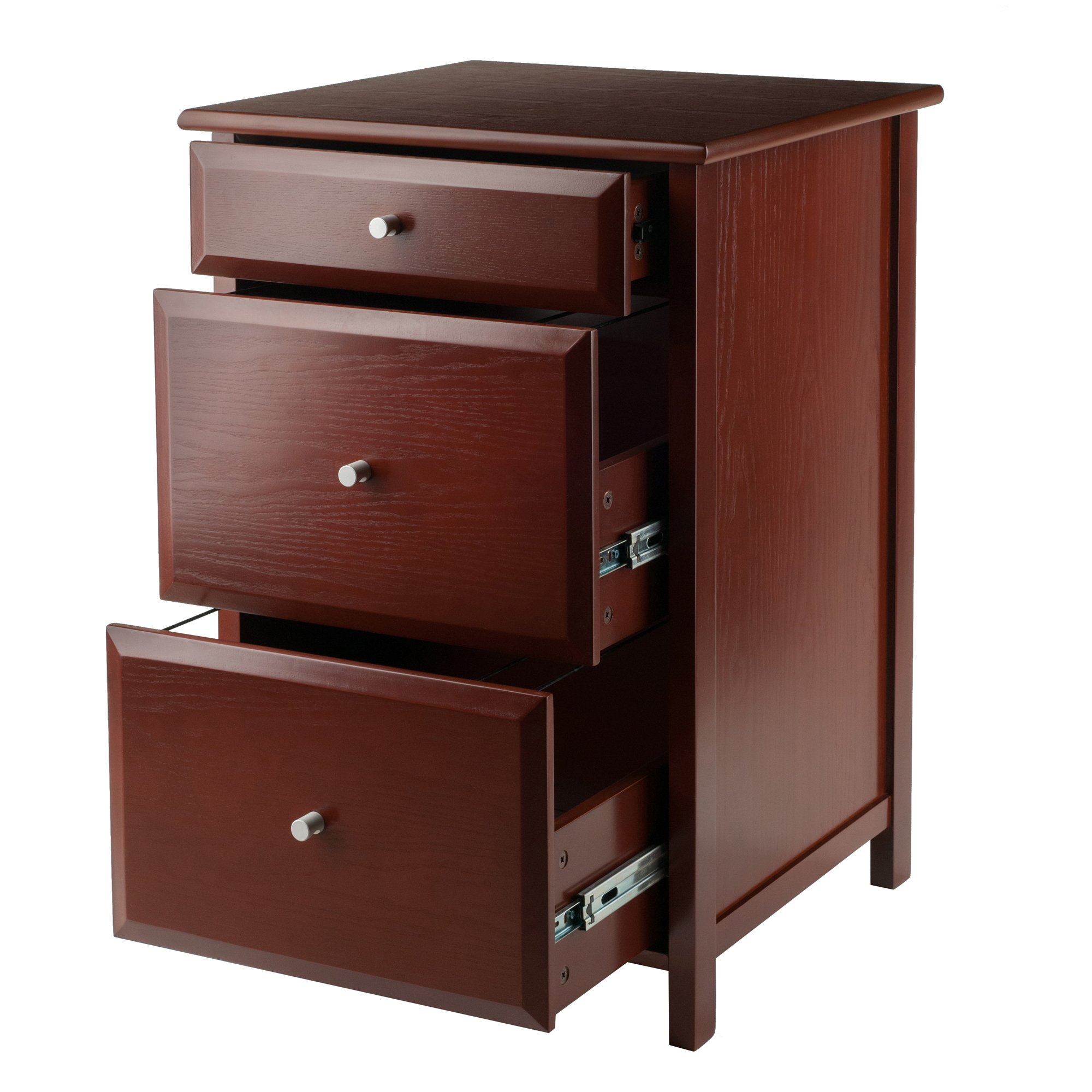 Winsome Wood 94321-WW Delta Home Office, Walnut by Winsome Wood (Image #3)