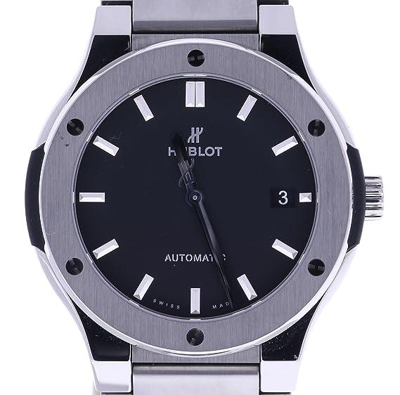Hublot clásico fusión 45 mm automatic-self-wind Mens Reloj 510. NX. 1170. NX (Certificado) de segunda mano: Hublot: Amazon.es: Relojes