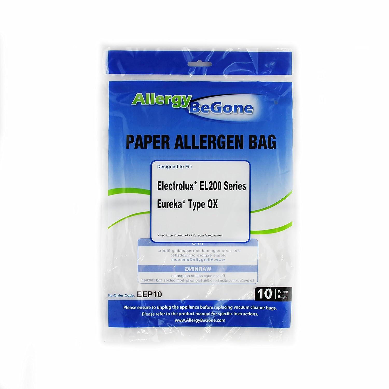 Allergy Be Gone Electrolux S Bag Vacuum Bag 10 Pack