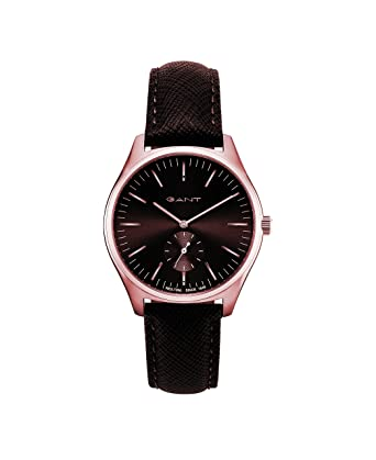 Analog Quarz Uhr Armband Herren Gant Mit Gt062006 Leder hQrCtds