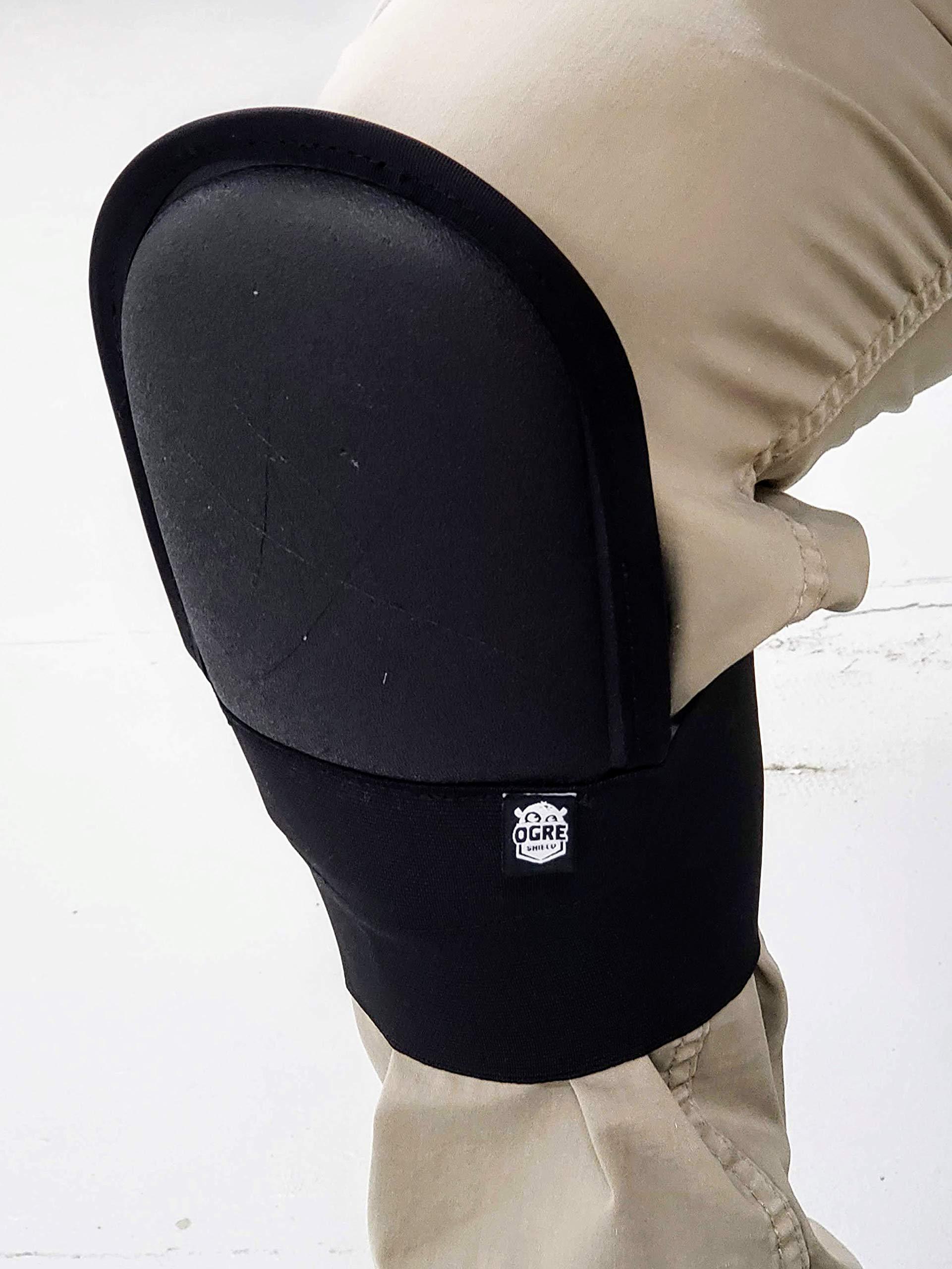 Ogre Shield Knee Pads - Hard Shell - The behind the calf knee pads! by Ogre Shield