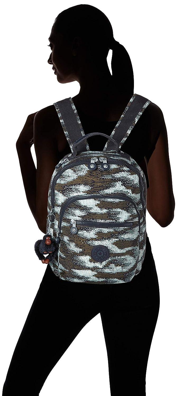 Kipling Clas Seoul S Backpack in Dynamic Dots