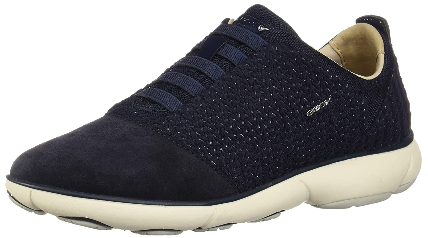 bluee (Navy C4002) Geox Women's Nebula C Leather Sneaker Black
