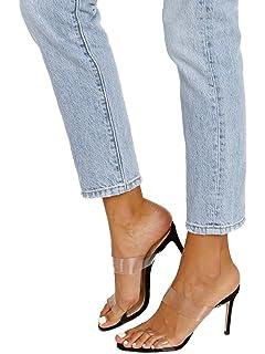 3991411e06 Amazon.com: SCHUTZ Women's Ariella Heeled Sandal, Transparent: Shoes
