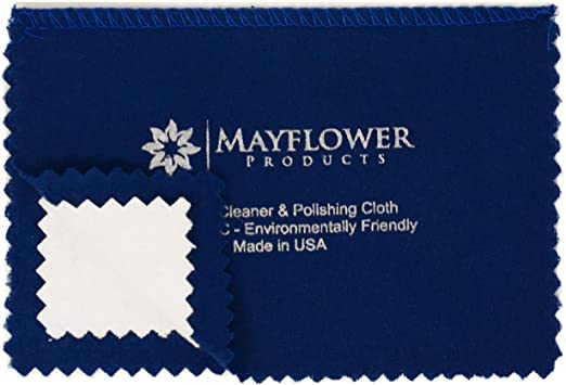 200 Pieces Jewelry Cleaning Cloth Polishing Cloth Jewelry Cleaner Cloth for Silver Gold Platinum Jewelry Watch Coins