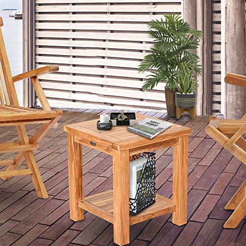 Teak Tundra Outdoor Side Table
