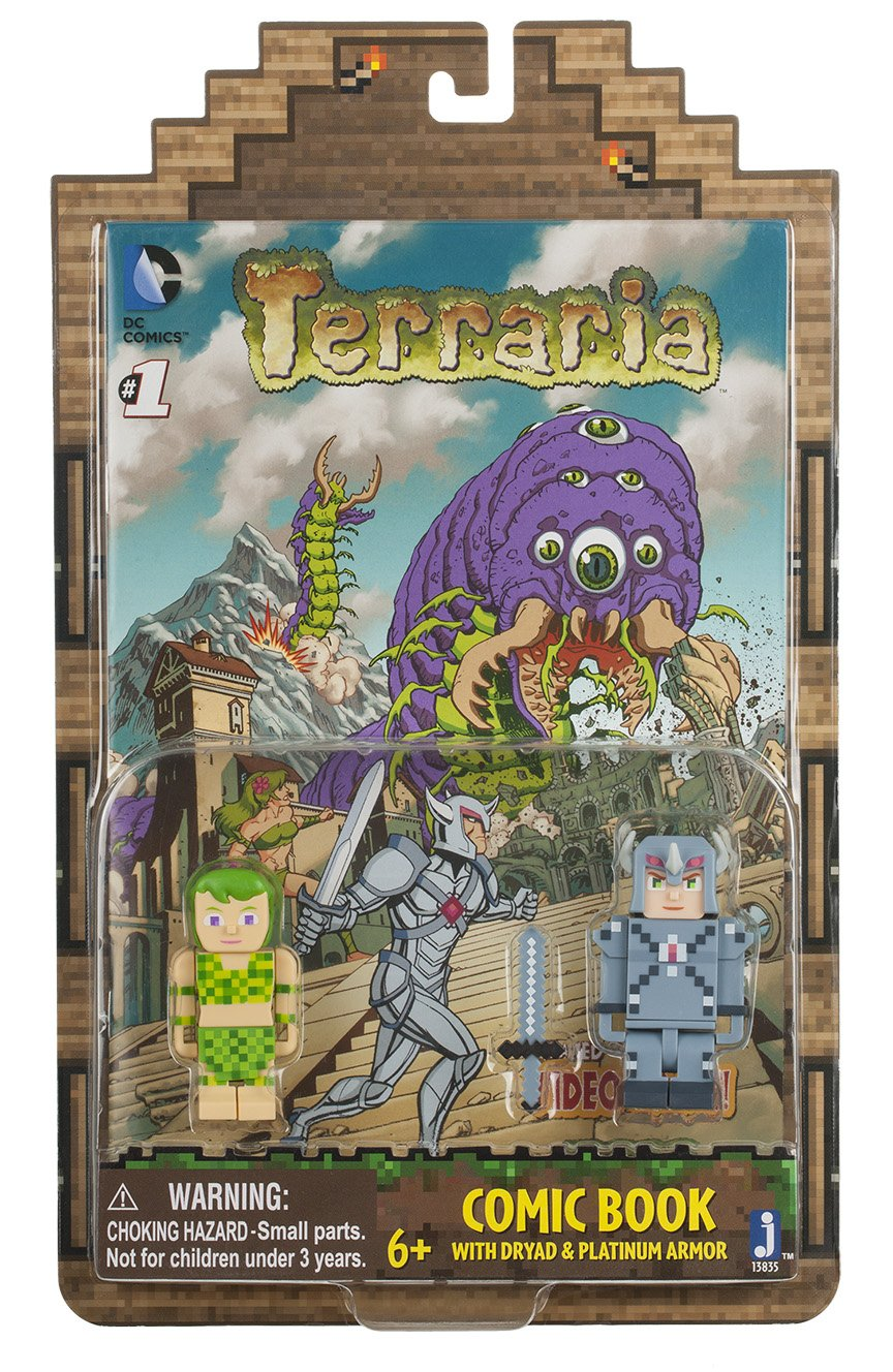Buy Terraria Comic Book With 2 Figures Online At Low Prices In India Amazon In