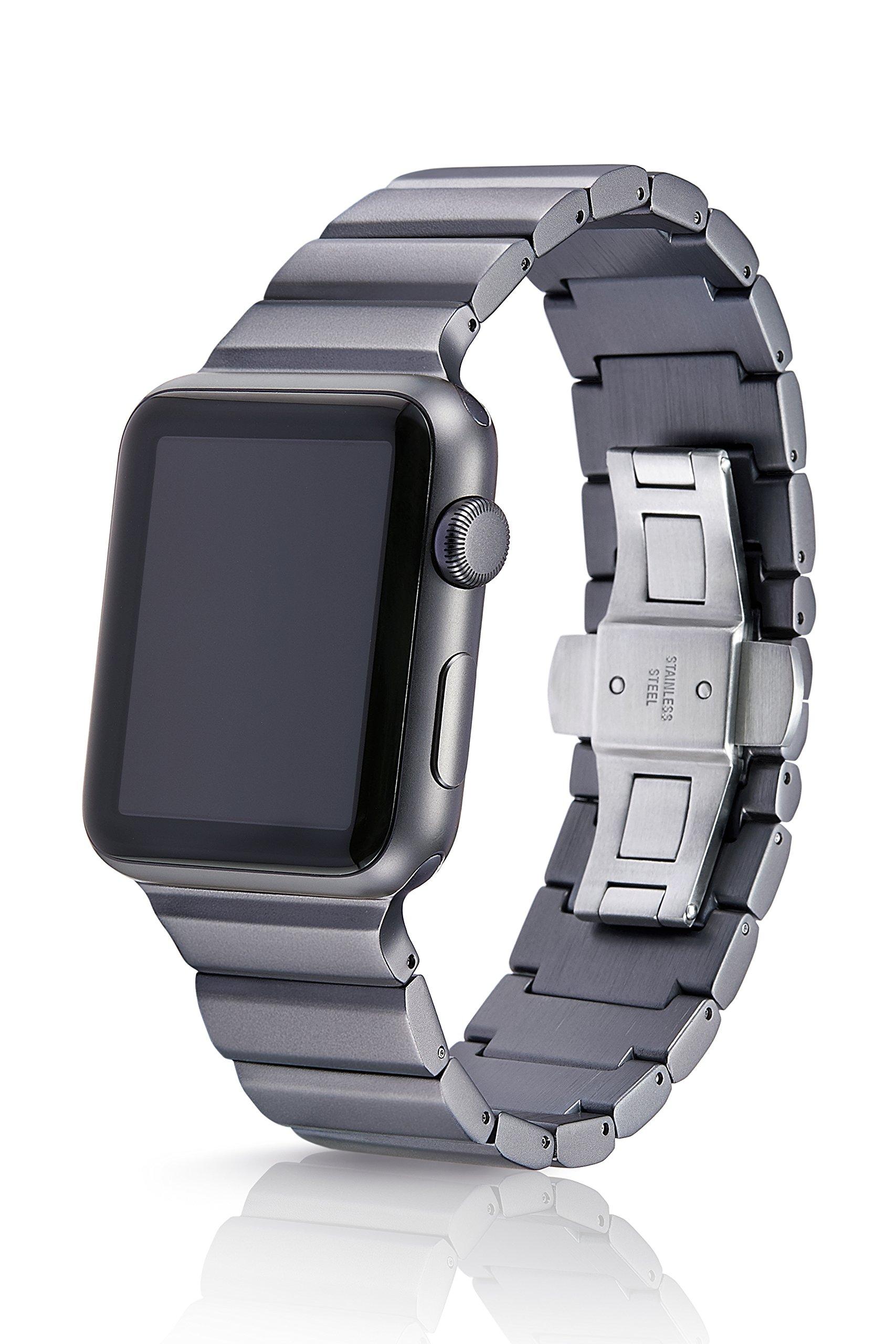 fbbdfd304ae 42 44mm JUUK Cosmic Grey Ligero Premium Watch Band Made for The Apple Watch