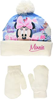 Disney Minnie Mouse - Pack Bonnet et Gants - Minnie Mouse - Fille ... 3e47596cbf3