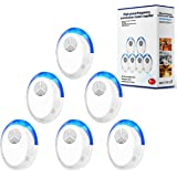 okutani Ultrasonic Pest Repeller, 6 Packs, Electronic Indoor Pest Repellent Plug in for Insects, Pest Control for Living…