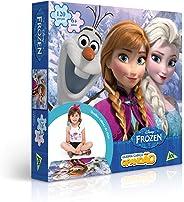 Toyster Quebra-Cabeça Cartonado Frozen Grandão 120 Peças