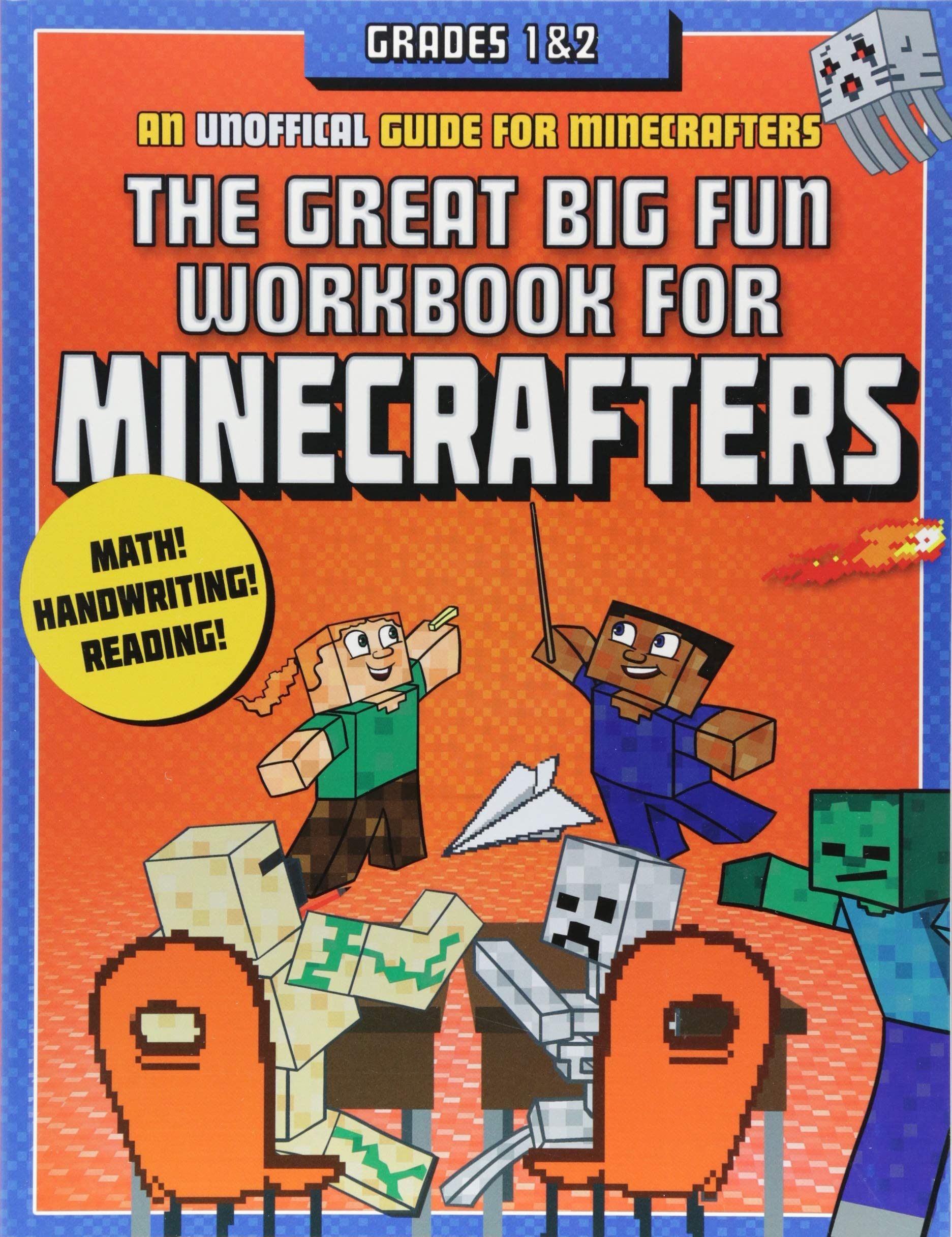 The Great Big Fun Workbook for Minecrafters: Grades 1 & 2: An Unofficial Workbook by Sky Pony Press