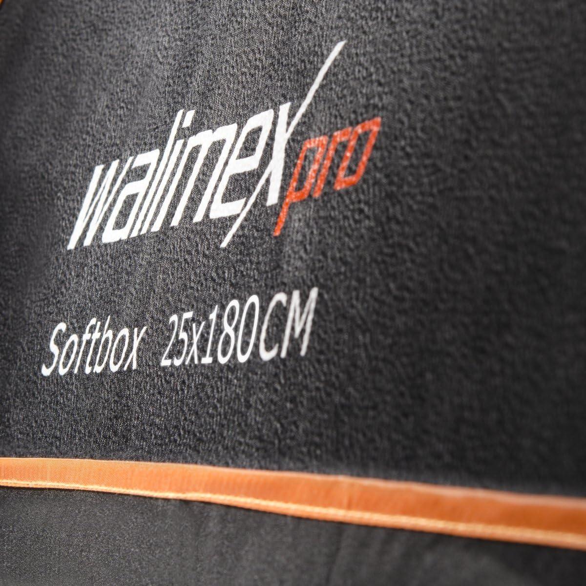 walimex pro Softbox Orange Line 25x180 18785