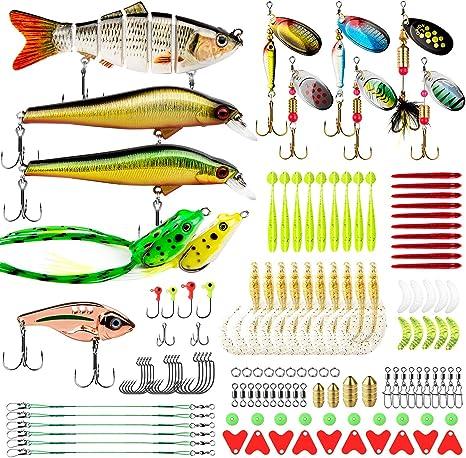 Fishing Lure 11 cm//13.5g Fish Crankbait Bait Fishing Accessories A2F2
