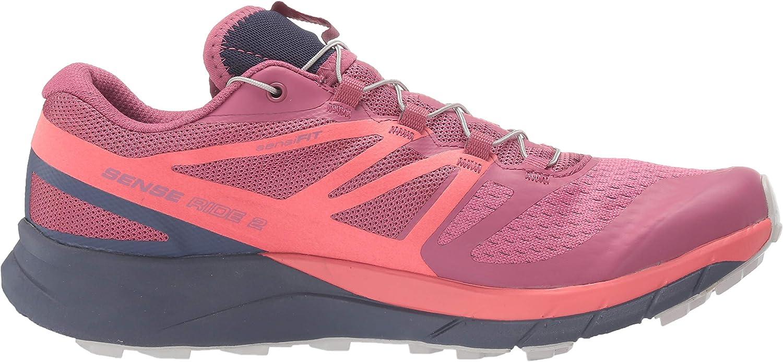 SALOMON Sense Ride Women's Trail Running Shoes Malaga/Dubarry/Crown Blue