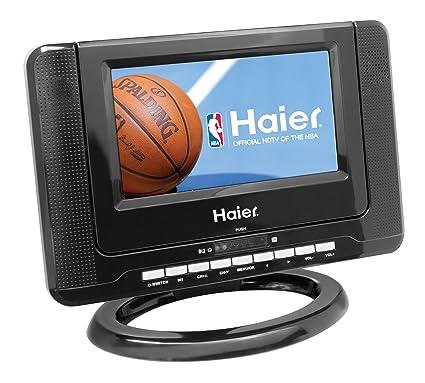 Amazon.com: Haier HLTD7 7-Inch Handheld HDTV with Built-In DVD ...