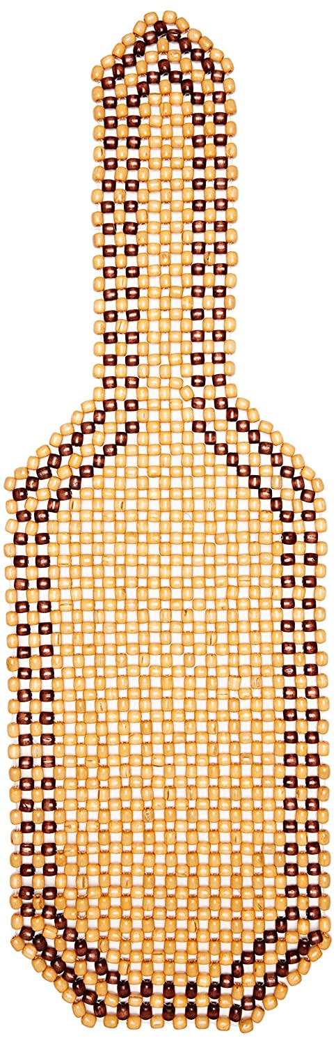 323212 Car Seat Pad with Wooden Beads