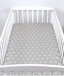 Spannbettlaken Bettuch für das Babybett 70x140 cm by Klara Brist