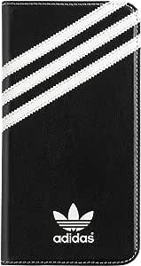 adidas Originals Booklet Wallet Cell Phone Case iPhone 6+ 6 Plus / 6S+ 6S Plus Black/White