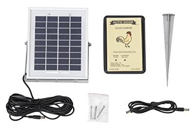 Coop Auto Door SOLAR-7.4 Chicken Solar Kit
