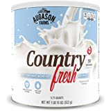 Augason Farms Country Fresh 100% Real Instant Nonfat Dry Milk 1lb 13oz #10 Can