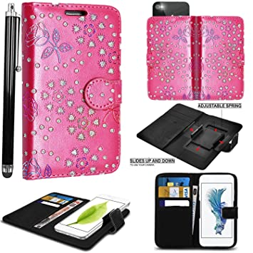 newest e7f5f efbd6 PRINTED DESIGN Mobile Stuff case for Argos Alba 5 Inch case cover pouch  Thin Faux Leather Hold it Spring Clamp Clip on Adjustable Book + Free  Stylus ...