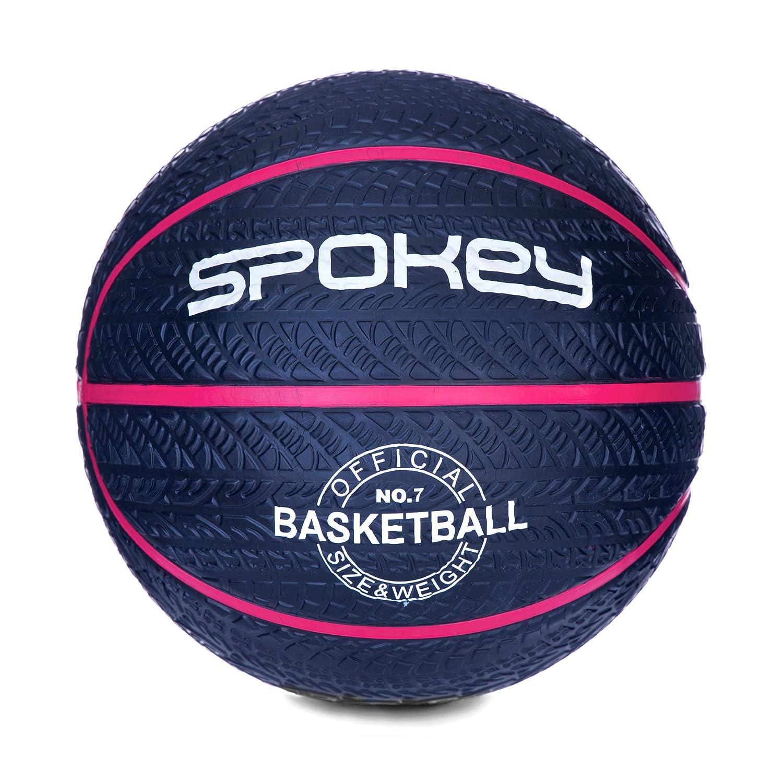 Spokey Magic Goma de Baloncesto, tamaño 7, Color Blanco y Rosa ...