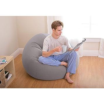 "Amazon.com: Intex Bolsa silla inflable, 42"" x 41"" ..."
