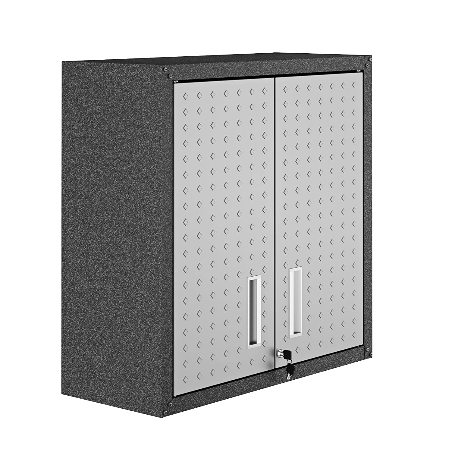 15. Manhattan Comfort 5GMC Fortress Floating Garage Storage Cabinet