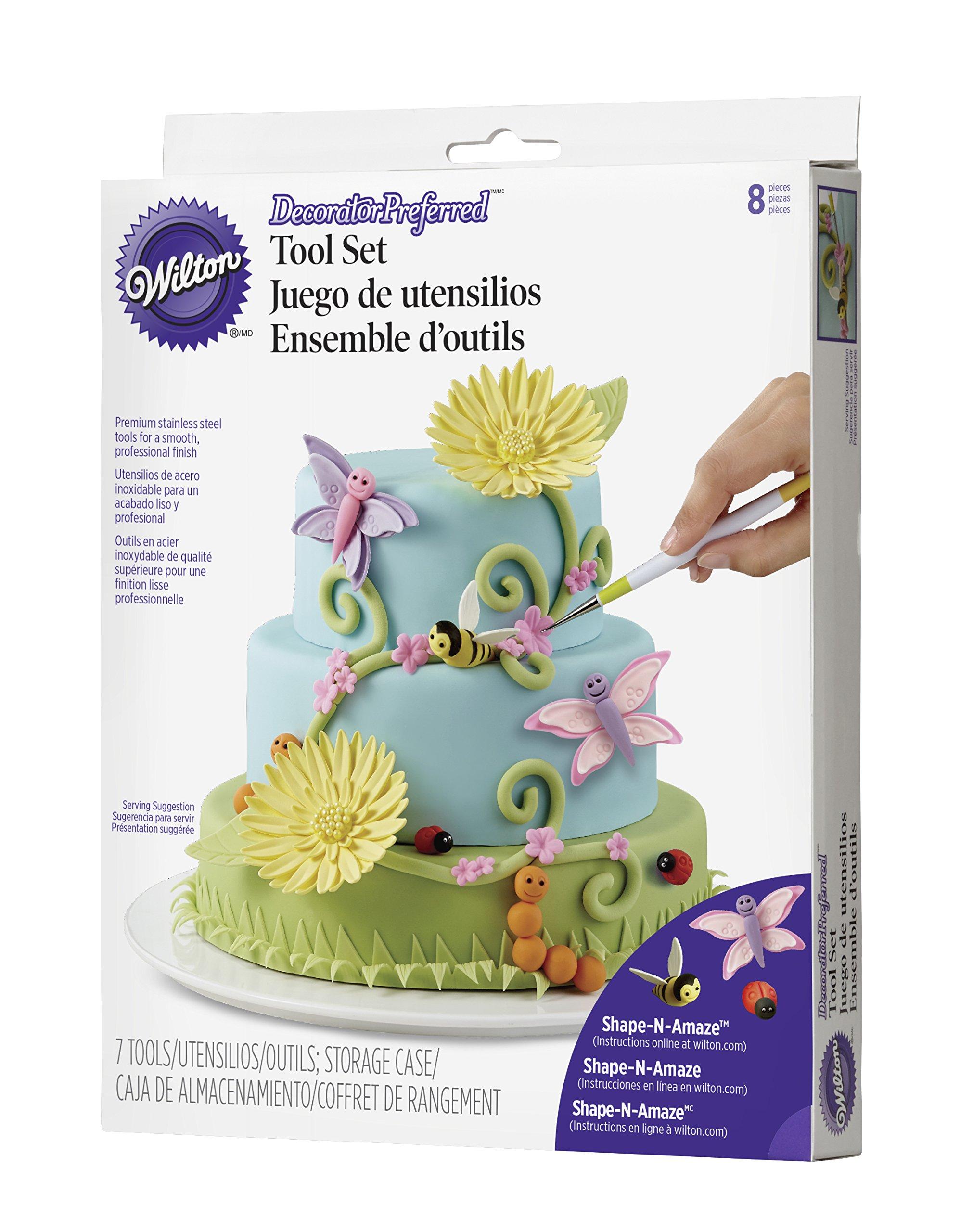 Wilton 3D Figure Modeling Fondant Tool Set, 8-Piece Cake Decorating Tool Set by Wilton (Image #18)