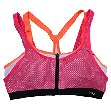 f95e6d4c73439 Amazon.com  Victoria s Secret Knockout Sports Bra Wireless Front ...