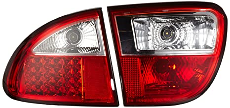 FK Automotive FKRLXLSE8005 Montaje de Luces Traseras LED, Rojo