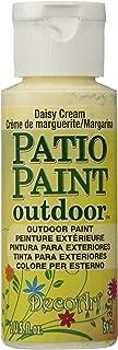 product image for DecoArt DCP15-3 Patio Paint, 2-Ounce, Daisy Cream