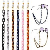 Collar para Mascarilla Cadenas de Gafas para Mujer,Correa Antideslizante para Gafas LIPIODOL 10Pcs Cordones para Gafas Soporte de Cuerda,Retenedor,Cord/ón para Cuello