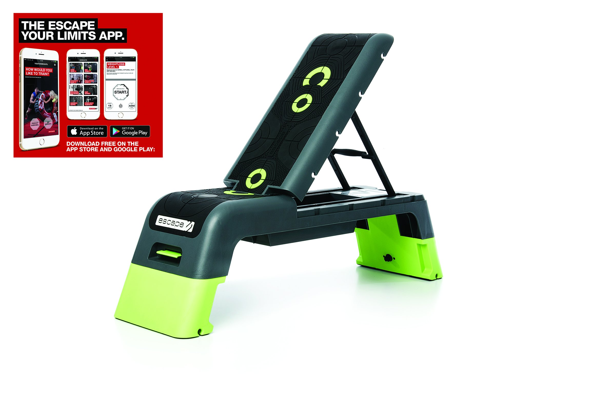 Escape Fitness Deck - Workout Bench and Fitness station by Escape Fitness USA (Image #3)