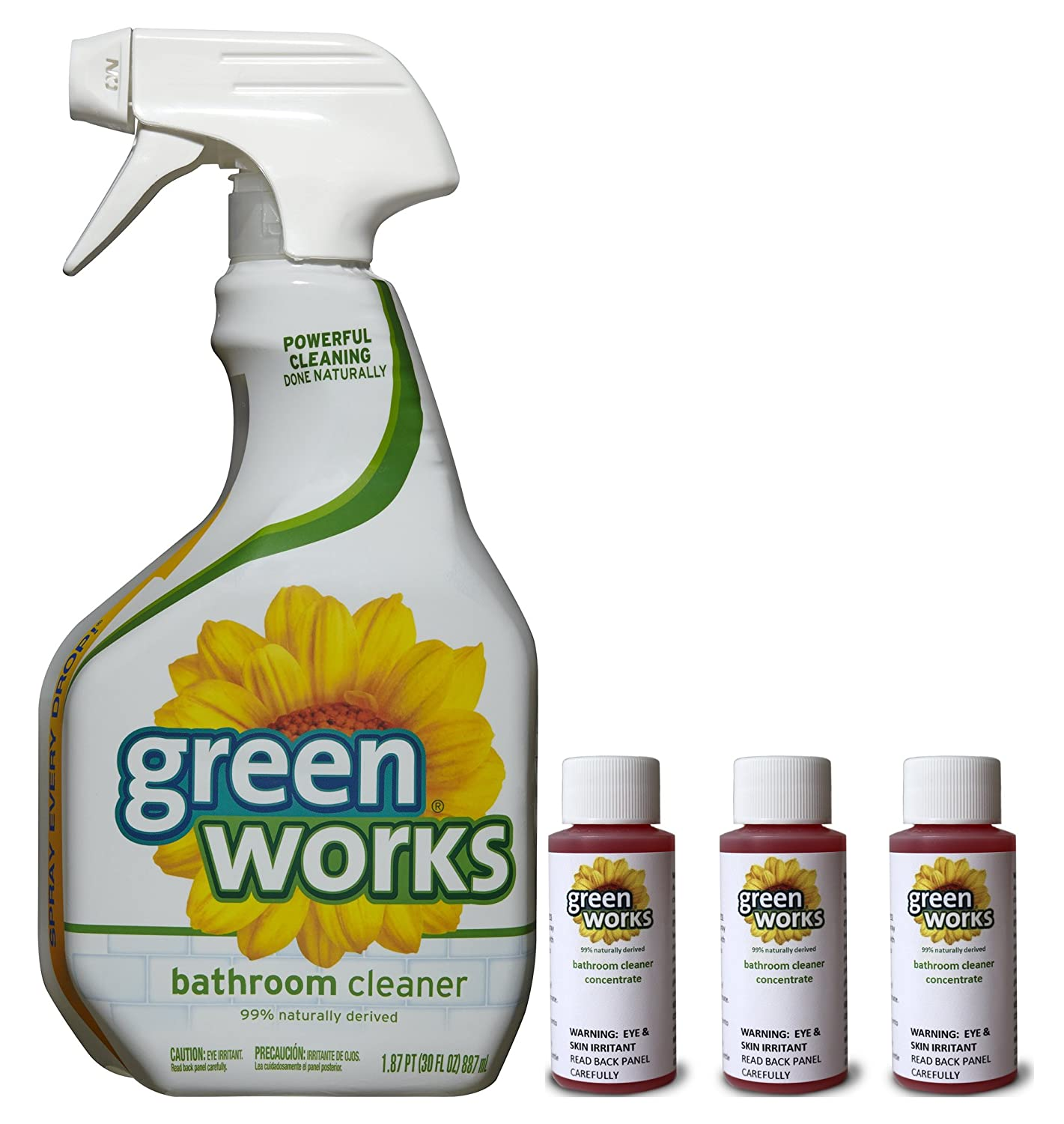 Green Bathroom Cleaners That Work: Clorox Green Works® Bathroom Cleaner Concentrate Value