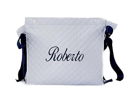 Talega plastificada carrito bebe personalizado danielstore (nombre Roberto)