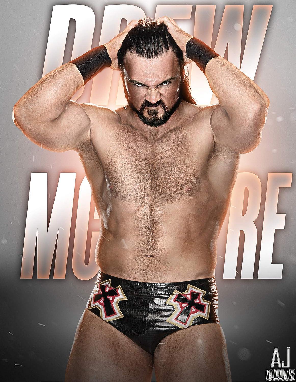 Drew Mcintyre poster//Drew Mcintyre figure wall decor//wrestling inspirational posters//wrestling items//wrestling elite