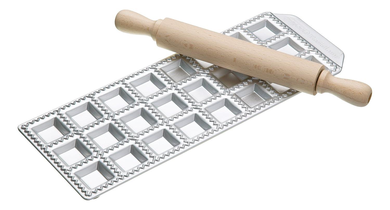 CucinaPro 127-24 Raviolamp Pasta Molds, 18-Tortelli RAVIOLI24
