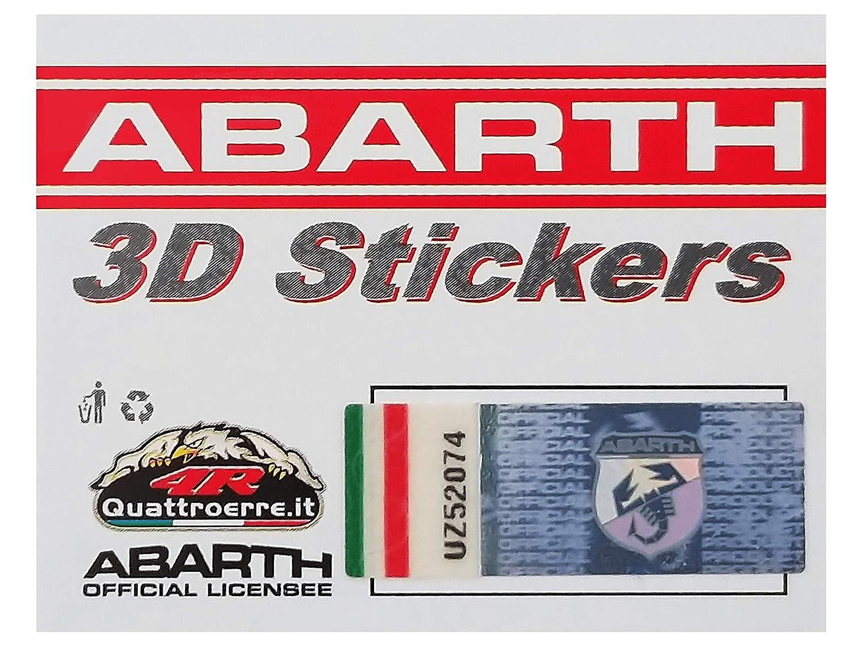 Diametro 12 mm Abarth 21538 Stickers Adesivi 3D Scorpione