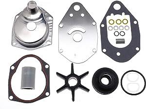 46-812966A11 Water Pump Impeller Repair Kit for Mercury Marine Mariner Quicksilver Outboard 40 45 50 55 60 65 70 75 HP 2/4 Stroke