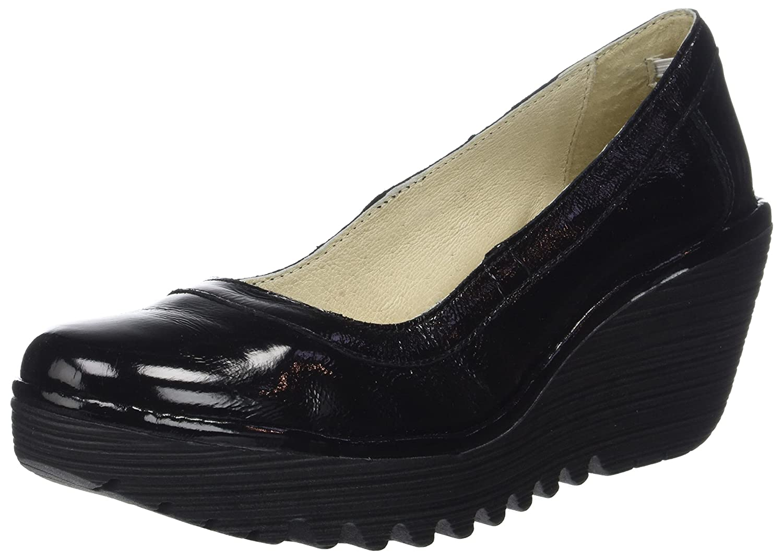 TALLA 39 EU. Fly London Yano838fly, Zapatos de tacón con Punta Cerrada para Mujer