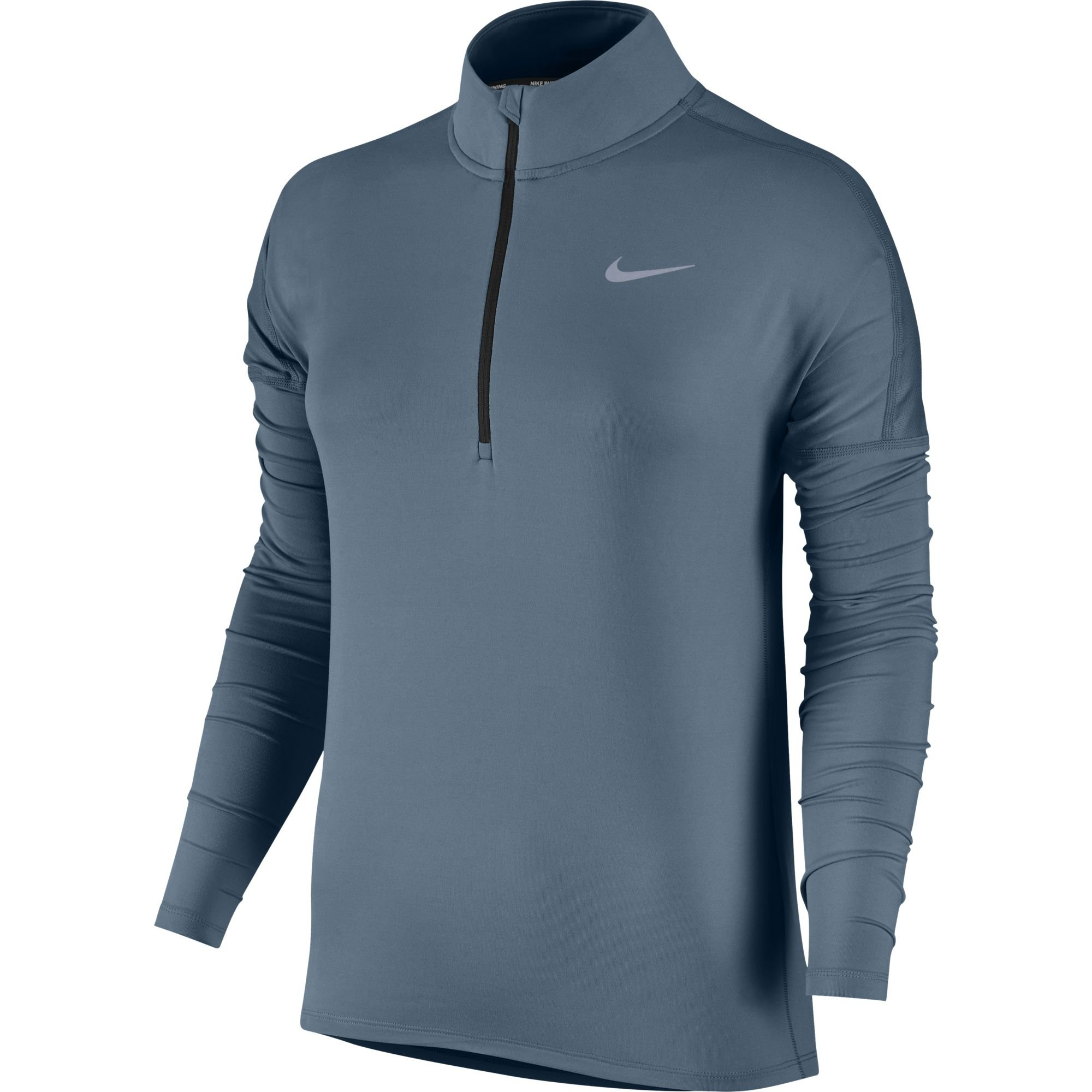 Nike Women's Dry Element Running Top Armory Blue/Heather Size Medium
