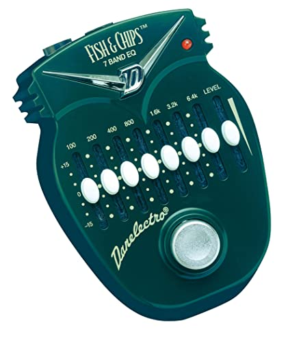 Danelectro DJ-14C Fish & Chips 7 Band EQ Mini Effects Pedal